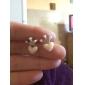 Boucles d'oreille goujon Forme de Coeur / Forme de Couronne,Bijoux Alliage Quotidien