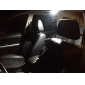 T10 Festoon Car Motorcycle White 8W COB 5000-5500 Reading Light Side Marker Light