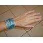 Hot Sale Wrap Wristband Cuff Punk Rhinestone Multilayer Bracelet Bangle