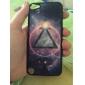 Univers chatoyante et cas dur de modèle de triangle pour iPod touch 5