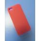 Для Кейс для iPhone 5 Ультратонкий / Матовое / Полупрозрачный Кейс для Задняя крышка Кейс для Один цвет Мягкий PC iPhone SE/5s/5