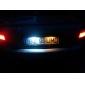 36 mm 6-LED lyspære til bilen med hvitt lys