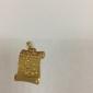 18k de ouro chapeado pingente muçulmano Alcorão