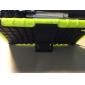 dois-em-um pneu grão pc projeto e capa de silicone com suporte para SONY z3 Xperia (cores sortidas)