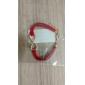Alloy Infinity Charm Bracelet with Adjustable Size
