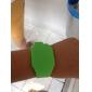 reloj rojo de los hombres llevó digital de banda de goma cuadrada