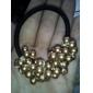 accessoires de cheveux cravates coréen perles de perles tissés à la main