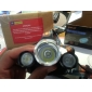 Torcia frontale ricaricabile BORUIT RJ-3000, 4 modalità, 3xCree XM-L T6, 4000 lumen (2x18650, 2 batterie 8650, caricabatterie, nero)