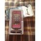 아이폰 5/5S 용 클리닝 섬유가 있는 완벽한 디자인 멋진 전체 방수 하드 케이스(다양한 색상)