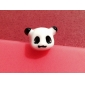 3.5mm niedlichen Panda Kopf Anti-Staub Stecker