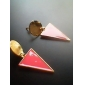 Alloy Acrylic Triangle Pattern Earrings (Assorted Colors)