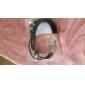 Муж. Кожаные браслеты Кожа Сплав Панк Мода В форме звезды Черный Серебряный с черным Бижутерия