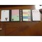 Cartoon Folding Self-Stick Note Set(Random Color)