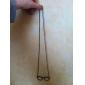 Lunettes de vue lureme®alloy collier de motif (couleurs assorties)