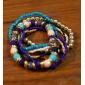 Женский Wrap Браслеты Уникальный дизайн Мода Резина Бижутерия Бижутерия Назначение Спорт Новогодние подарки