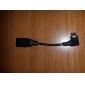 Micro USB hane till USB Hona OTG-kabel till Samsung Galaxy S3 I9300 m.fl.