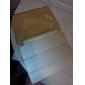 아이 패드 공기에 대한 간단한 트리플 배 실크 인쇄 PU 가죽 플러스 PC 스탠드 케이스