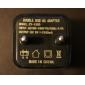 아이 패드 에어 2 아이폰 6 아이폰 6을 더한 아이폰 5S / 5 아이 패드 미니 3/2/1 아이 패드 공기를위한 보편적 인 듀얼 USB 유럽 연합 (EU) 전원 어댑터