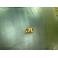 mens lmitation ouro gravado anéis padrão (entrega aleatória)