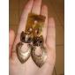 고대 금 올빼미 귀걸이