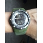 Men's Digital LCD Multifunctional Rubber Band Wrist Watch (Assorted Colors) Cool Watch Unique Watch Fashion Watch