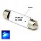 39mm 1W 3x5050SMD LED 50lm Blue Lights купола фестона номерного знака Лампа для автомобилей (DC 12V)