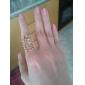 Europese en Amerikaanse stijl retro hol gesneden bloem ring ring-opening mysterieuze kant r765 r766
