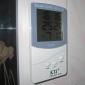 numérique à cristaux liquides en plein air / thermomètre intérieur hygromètre température avec ta368 horloge