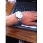 Reloj Pulsera Quartz Análogo de Diseño Original en Acero - Plateado