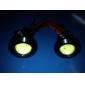 3W 80-100LM 19500-20000K LED White Light Eagle Eye Car Foglight (9-12V)