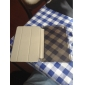 dsb® cuir PU trois volets ultra-mince de cristal dur retour à puce couvercle du boîtier de support pour iPad mini1 / 2