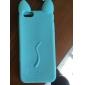 bonito estojo de silicone gato por 6s iPhone 6 Plus