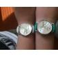 Женские Модные часы Наручные часы World Map Pattern Кварцевый PU Группа Повседневная Часы с текстом Черный Белый Зеленый
