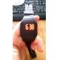 Unisex Rød LED Digitalt Ur med Gummi Bånd