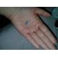 50 Perhiasan Permata Tiruan 2mm Seni Kuku Akrilik