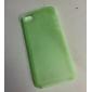 Para Capinha iPhone 5 Ultra-Fina / Áspero / Translúcido Capinha Capa Traseira Capinha Cor Única Macia PC iPhone SE/5s/5