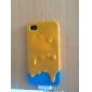 아이폰 4/4S를위한 아이스크림 본 뒤 케이스 (분류 된 색깔)
