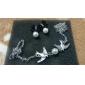 여성용 팬던트 목걸이 Animal Shape 새 펄 모조 진주 유니크 디자인 신부 유럽의 의상 보석 보석류 제품 결혼식 파티 일상 캐쥬얼
