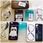 Number 8 Padrão Soft Case de silicone para iPhone5/5s