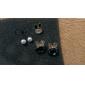 한국 보석 수정 같은 토끼 귀걸이 한국의 귀걸이 귀걸이 (무작위 색깔)