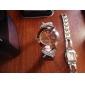 Mulheres Quartz Banda Bracelete Cores Múltiplas marca-