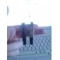 Муж. Браслет разомкнутое кольцо По заказу покупателя Мода Нержавеющая сталь Круглый Черный Бижутерия ДляПовседневные Спорт Новогодние