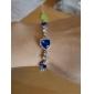 lureme®fashion кристаллы форме сердца браслет