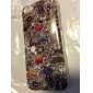Multiple Elements TPU IMD Soft Case for iphone 5C