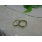 커플용 커플 링 패션 의상 보석 티타늄 스틸 도금 골드 Round Shape 보석류 제품 일상 캐쥬얼