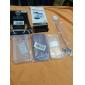 2 1에있는 직업 서리로 덥은 LCD 스크린 보호자 + iPhone 4를위한 바디 보호 필름 키트