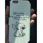 bande dessinée cuir lapins motif cas du corps entier avec support pour iphone 6s 6 plus
