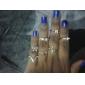 Кольца Свадьба / Для вечеринок / Повседневные Бижутерия Сплав / Позолота Женский Кольца на вторую фалангу6