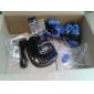 Силиконовая кожа и 2 Синий Стик Захваты для PS4 (синий)