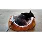Cama de Animal de Estimação - Pata de Cachorro (Várias Cores, 50x40x16cm)